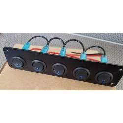 Botonera 5 switch